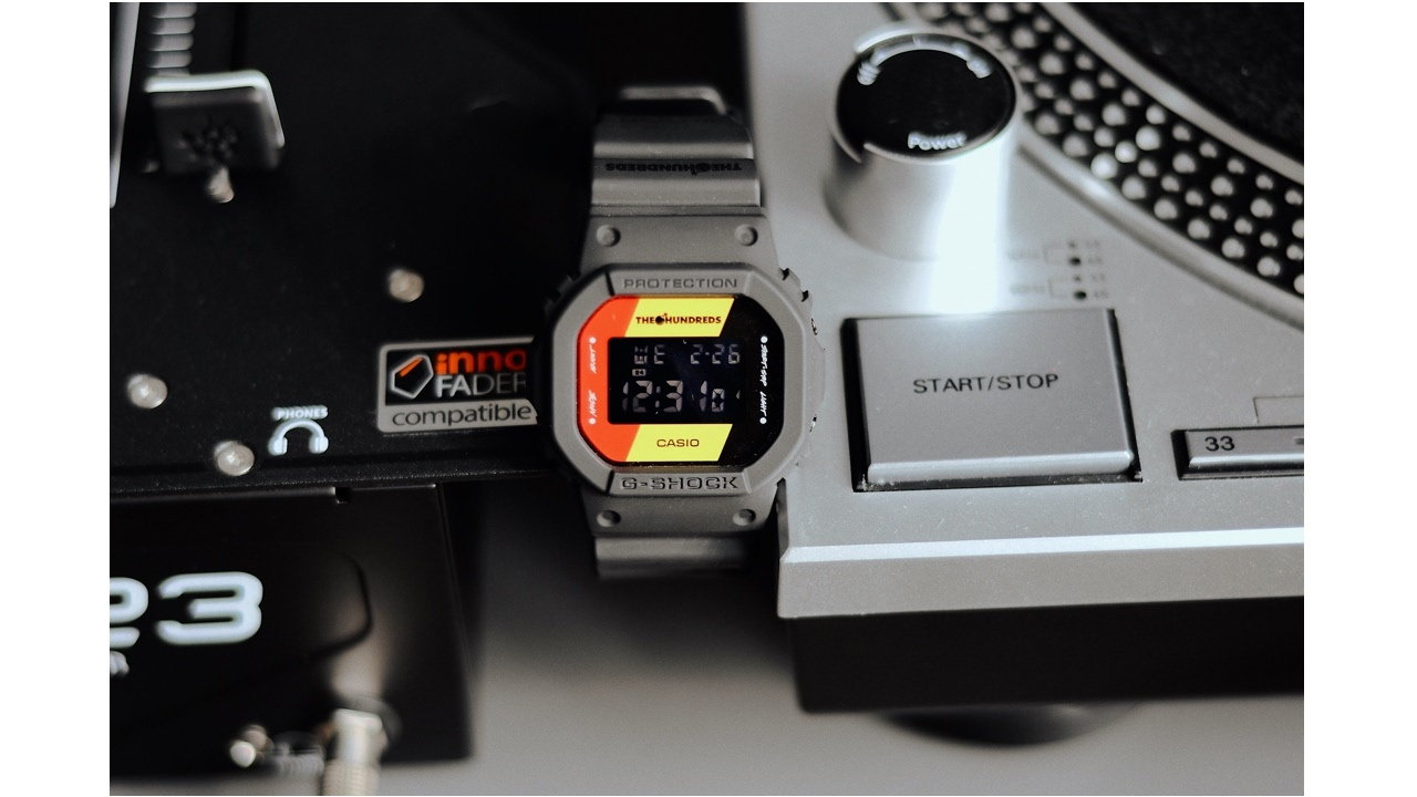 casio g-shock x the hundreds