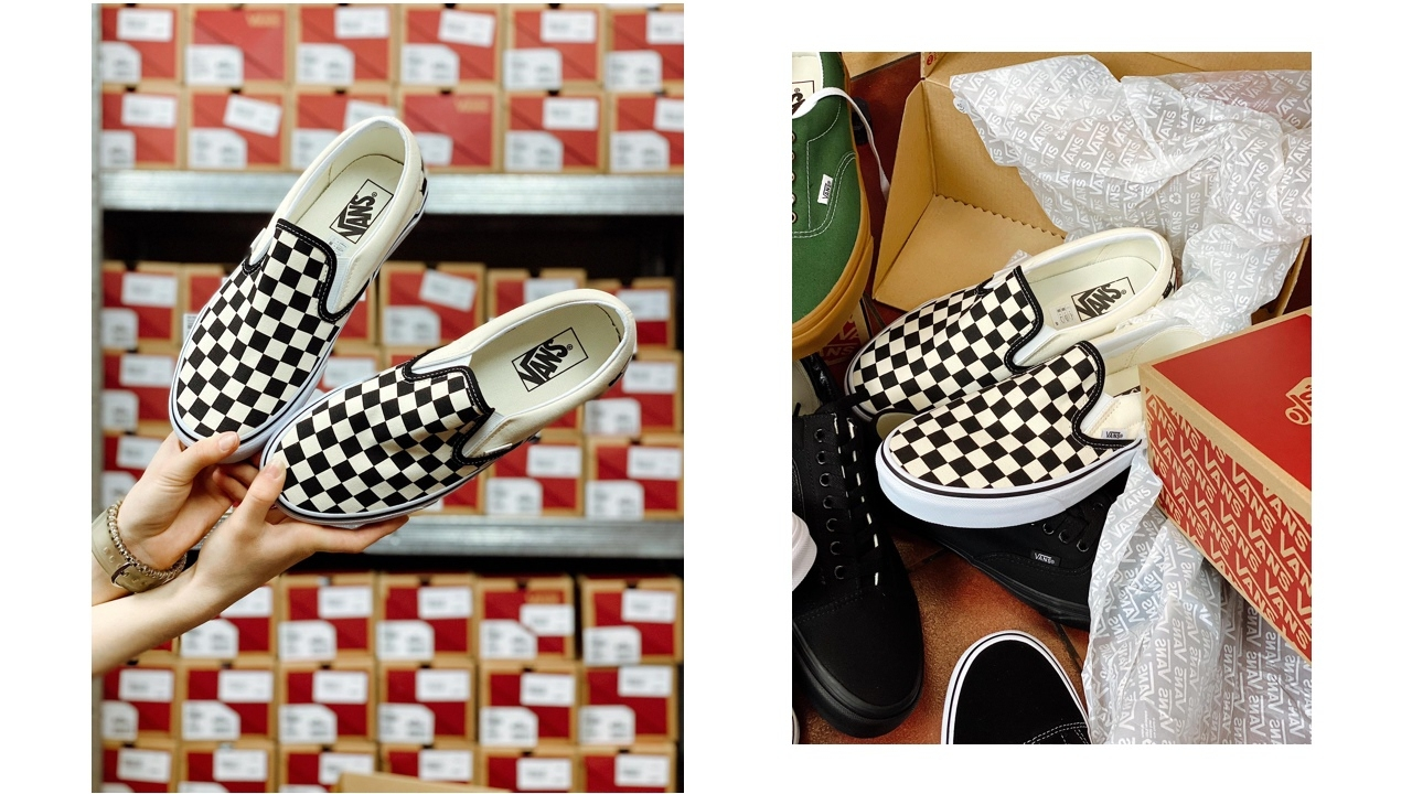 "Vans Classic Slip-On ""Checkerboard"""