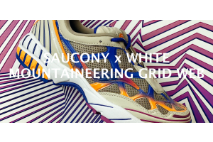 Saucony x White Mountaineering Grid Web