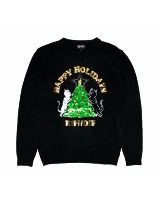Свитер RIPNDIP Litmas Tree Knitted Sweater Black