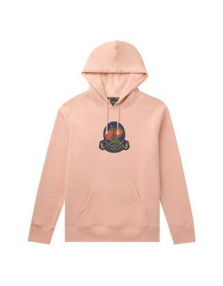 Худи HUF Tendreloin Rose Crest P/o Hoodie Coral Pink